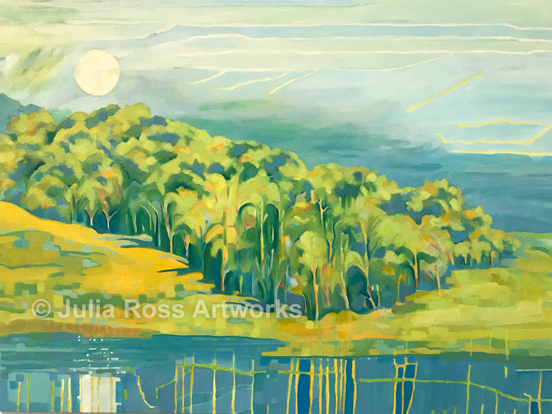 Abbott's Lagoon - Julia Ross Artworks