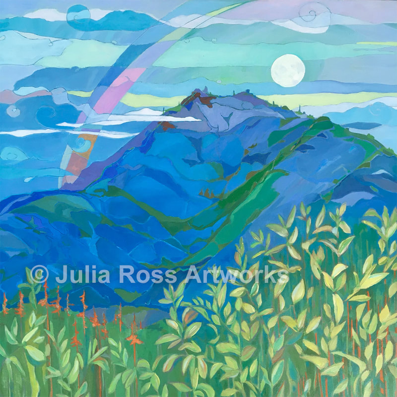 Mountain Moon Set - Julia Ross Artworks