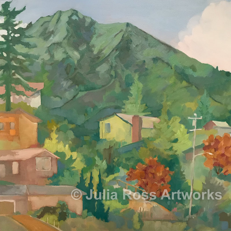 Mt. Tamalpais from Almonte - Julia Ross Artworks