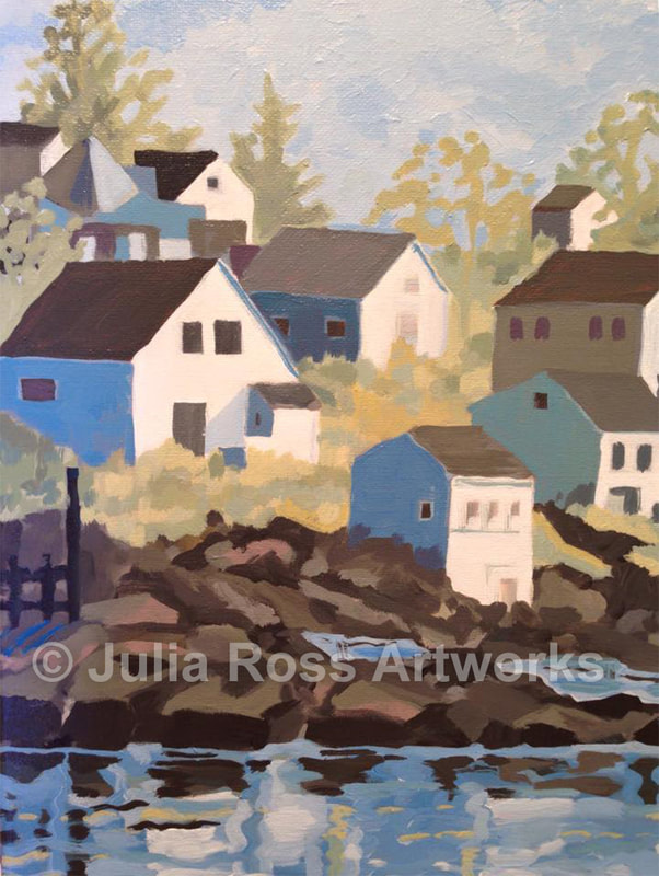 Stonington, Maine - Julia Ross Artworks